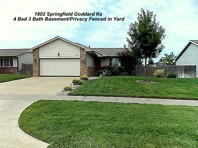1802 N Springfield St, Goddard, KS 67052